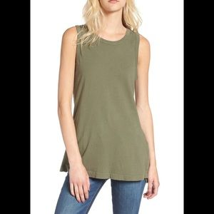Current/Elliot muscle tee, size 0, new